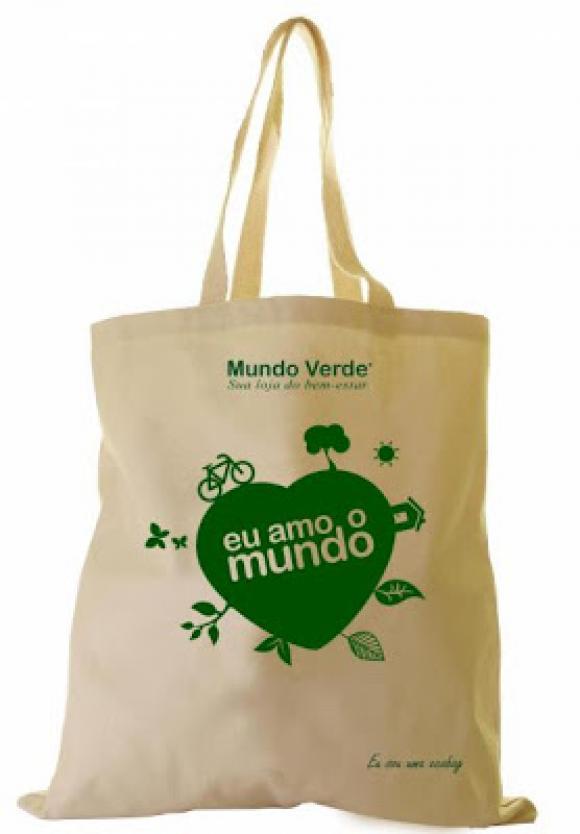 sacola em tecido, sacola retornável, sacola de compras, sacola ecológica ,