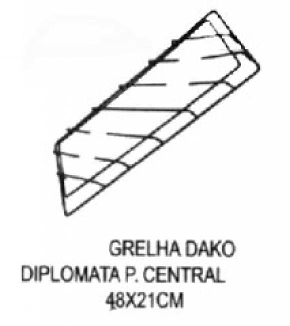 Grelha Dako Diplomata pino central 48 x 21,conserto de fogões bh, so fogoes, sofogoes, peças para fogoão em geral,conserto de fogões,canalizações de gás, instalções de gás predial e resisêncial