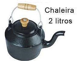 Chaleira Ferro Fundido 2 litros,Chaleira em ferro