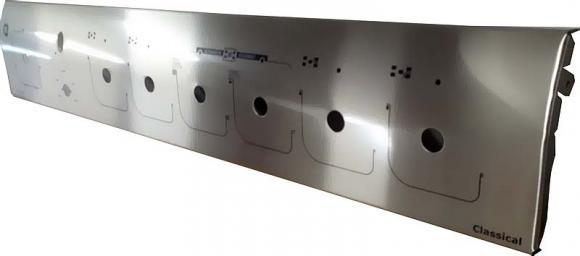 Paneil GE Classical 6 bocas inox 1 furo e timer,so fogoes,sofogoes,pe�as para fogo�o em geral,fog�es,conserto de fog�es,conserto de fog�es bh,fog�es industriais.fog�es a lenha