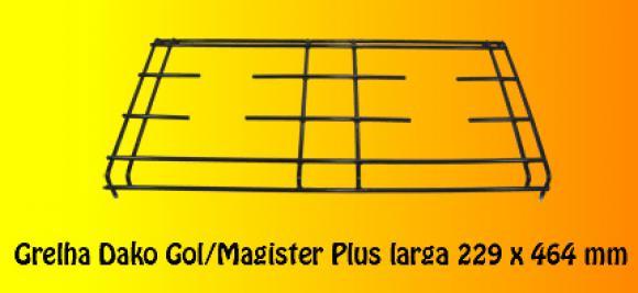 Grelha Dako Gol / Magister plus Larga 229 x 464,grelha para fog�o dako