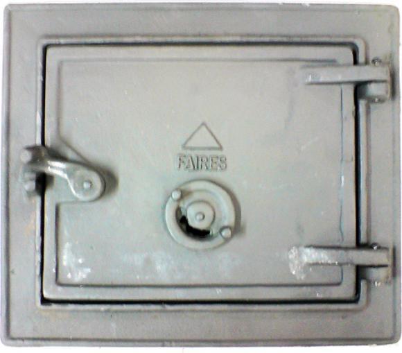 Cinzeiro Ferro Fundido 34 x 29,Porta Cinzeiro fog�o a lenha MC
