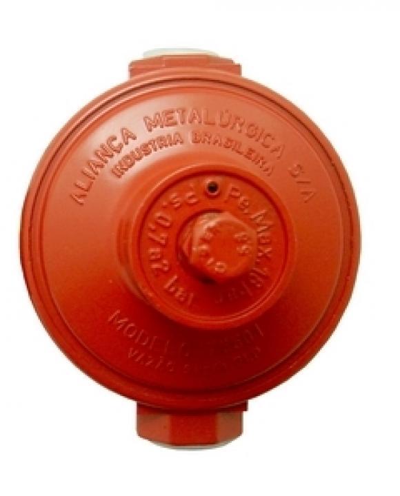 REGULADOR ALIANCA IND Vermelho 9KG/H,conserto de fogões bh, so fogoes, sofogoes, peças para fogoão em geral,conserto de fogões,canalizações de gás, instalções de gás predial e resisêncial