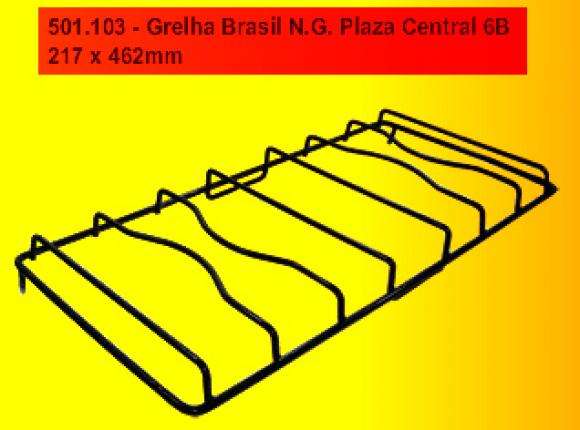 Grelha Continental NG Plaza CENTRAL 6b 217 x 462 mm,so fogoes,sofogoes,pe�as para fogo�o em geral,fog�es,conserto de fog�es,conserto de fog�es bh,fog�es industriais.fog�es a lenha
