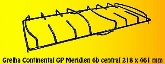 Grelha Continental GP Merid. NG 6b central 218 x 461 mm,so fogoes,sofogoes,pe�as para fogo�o em geral,fog�es,conserto de fog�es,conserto de fog�es bh,fog�es industriais.fog�es a lenha