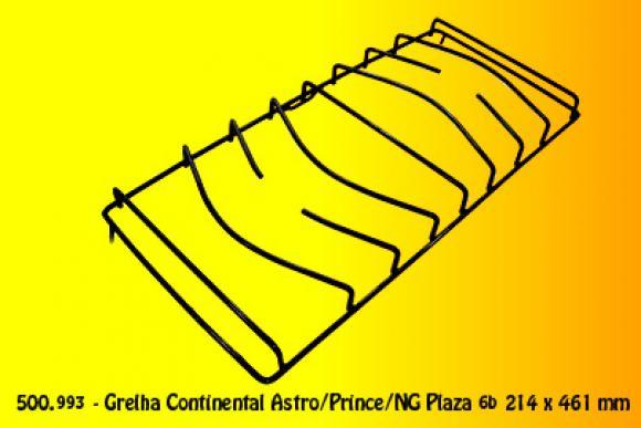 Grelha Continental Astro Prince NG Plaza 214 x 461 6b,so fogoes,sofogoes,pe�as para fogo�o em geral,fog�es,conserto de fog�es,conserto de fog�es bh,fog�es industriais.fog�es a lenha