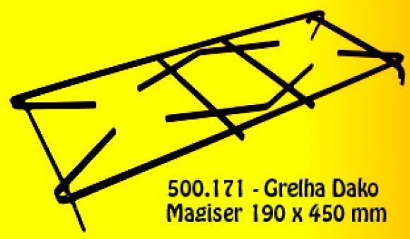 Grelha Dako Magister 190 x 450,grelha Dako