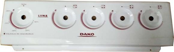 Painel DAKO Luna 4 bocas,so fogoes,sofogoes,pe�as para fogo�o em geral,fog�es,conserto de fog�es,conserto de fog�es bh,fog�es industriais.fog�es a lenha