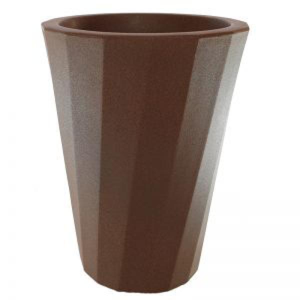 VASO RESINA MADRI tamanho G,floricultura eco flora, floricultura bh,  flora em bh, orquídeas bh, plantas em bh, paisagismo em bh, decoraçao em bh, vasos decorativos em bh, calandiva em bh, presente em bh, planta pendente em bh, planta de varanda em bh, vaso de resina em bh